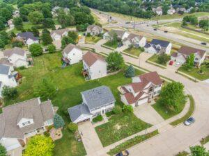 suburban yards