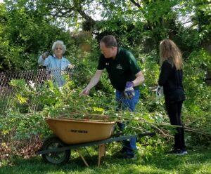 Habitat restoration at Ridgely Manor Park