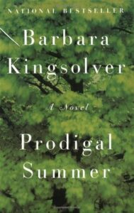 Cover of book, Prodigal Summer